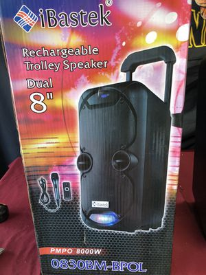 "Dual 8"" Bluetooth party speaker/ brand new for Sale in Phoenix, AZ"