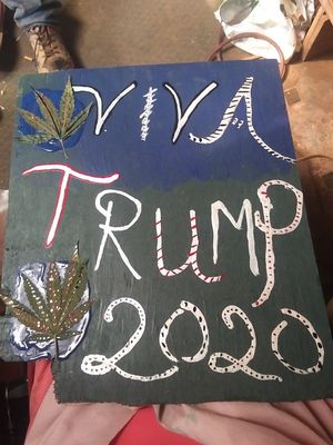 Trump Signs ~Donation~ for Sale in Merced, CA