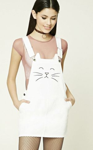 Cat face dress/overalls for Sale in San Leandro, CA