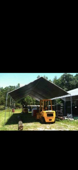 New Heavy duty Size available 20x20 20x30 20x40 20x50 And more Price depends on the size Canopy Tent Carport Canopie Canopies Carpa for Sale in Rancho Cucamonga, CA