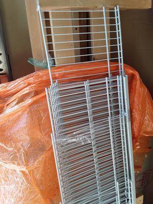 Metal wall shelving set shelf shelves for Sale in Portland, OR