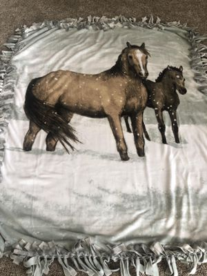 Fleece Blanket Horses for Sale in Lockport, IL
