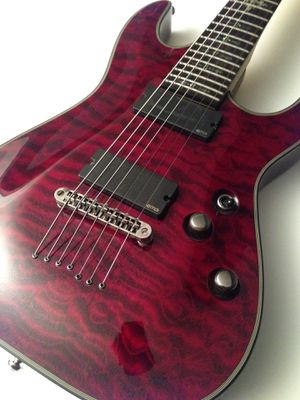 Schecter Damien Elite-7 7 String Electric Guitar for Sale in Upland, CA
