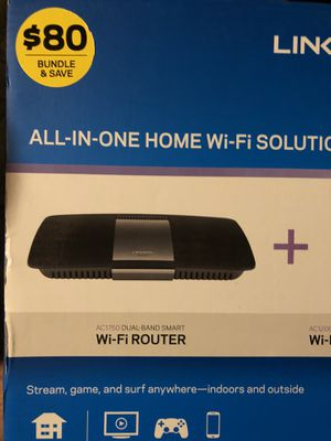 Linksys AC1750 dual band smart WiFi router for Sale in Battle Creek, MI