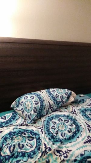 King size sleigh bed. King size Mattress.1 night stand for Sale in Spring Valley, CA