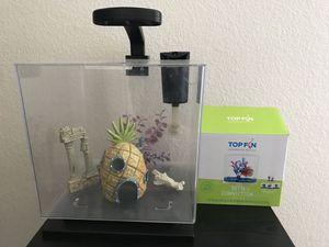 3 gallon fish tank + supplies for Sale in Las Vegas, NV