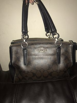 Dark Brown Coach purse for Sale in Lakewood, CO