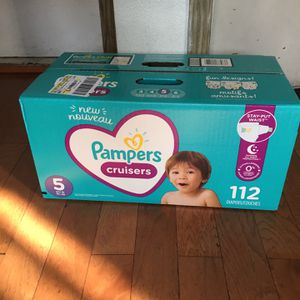 HUGGIES Cruisers SIZE 5 112 pañales for Sale in Carson, CA
