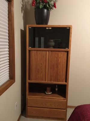 Cabinets, media or other, solid wood for Sale in Spokane, WA