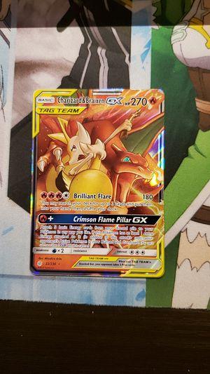 Pokemon Charizard & Braixen GX for Sale in Pittsburgh, PA
