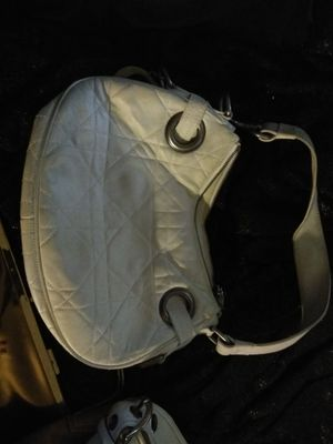 Coach white leather purse for Sale in TN, US