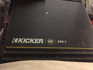Kicker 2 channels car amplifier works good for Sale in Greenwich, CT