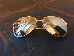 18k gold plated Dolce & Gabbana aviator sunglasses. for Sale in Salt Lake City, UT