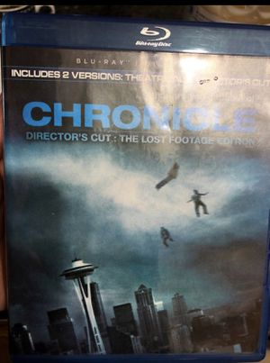 Blu ray - CHRONICLE for Sale in Tamarac, FL