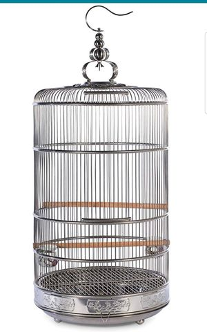 Stainless steel bird cage for Sale in Sulphur, LA