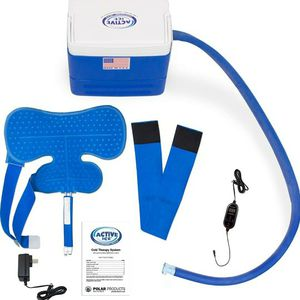 Polar Active Ice 3.0 Cold Therapy Ice Machine System with Programmable Timer, Shoulder Compression Pad, Lightweight 9 Quart Cooler Freeze Kit, Quiet P for Sale in Jurupa Valley, CA