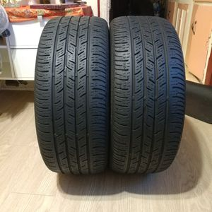 2USED TIRES CONTINENTAL RUNFLAT 225/45/17........70% TREAD @$50, for both tires for Sale in Huntington Park, CA