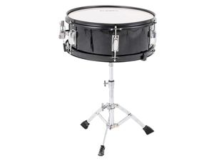 Practically New—LAGRIMA 5 Piece Full Size Drum Set with Stand, Cymbals, Hi-Hat, Pedal, Adjustable Drum Stool and 2 Drum Sticks for Adult/Kids(Black, for Sale in Wheaton, IL