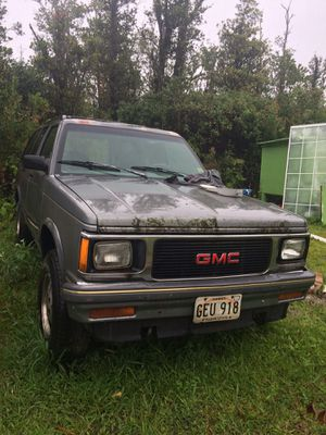 GMC Jimmy scrap vehicle for Sale in Mountain View, HI