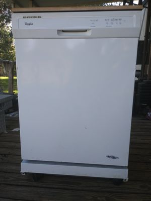 Whirlpool portable dishwasher for Sale in Zephyrhills, FL