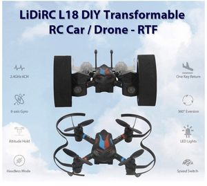 Drone 2.4Ghz 6CH 6-Axis Gyro, 8 Min Long Time Flying, Can DIY, manually get Four Axes, Remote Control car, Good for Beginners, Adults & Kids (Black) for Sale in Springfield, VA