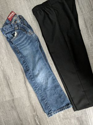 Size six boys jeans and slacks for Sale in Pasco, WA
