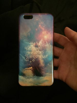 iPhone 6 Case with the space and quote for Sale in Los Angeles, CA