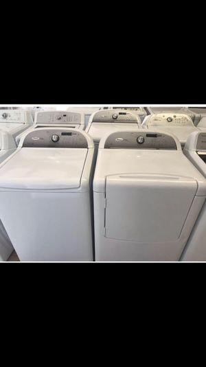 Whirlpool Cabrio Washer and Dryer Set for Sale in Houston, TX