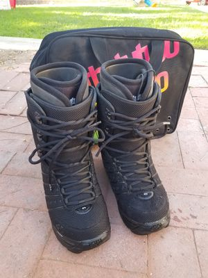 Thirty Two 32 Snowboard Boots - ULTRALIGHT - With Travel Bag. Men Size 10 for Sale in Fullerton, CA