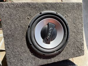 10 inch infinity DVC will test for Sale in Modesto, CA