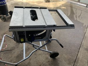Table saw new $$110 for Sale in Dallas, TX