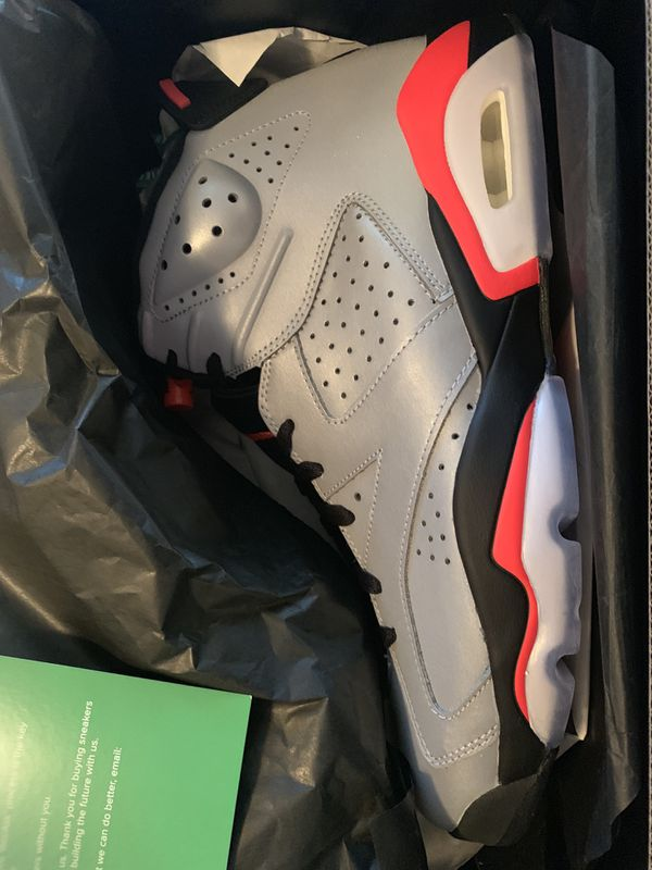 Air Jordan 6 3M Reflective Infrared/Reflections of a champion