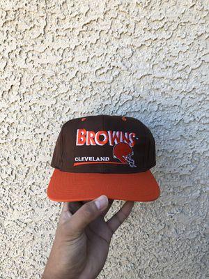 Vintage Cleveland Browns Snapback for Sale in Las Vegas, NV