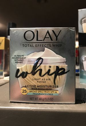 Olay total effects whip for Sale in Hallandale Beach, FL