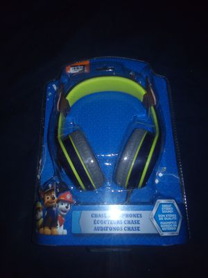 Paw patrol chase headphones open box for Sale in Tolleson, AZ