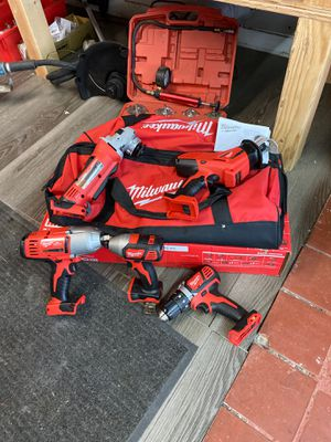 5-piece milwaukee kit for Sale in Elk Grove, CA