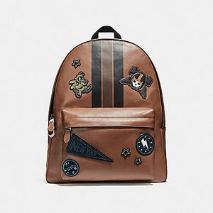 Coach Men's saddle color leather backpack for Sale in Simi Valley, CA