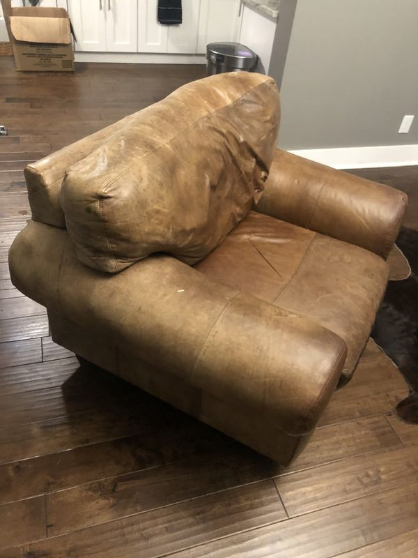 Leather Recliner or Comfy Lounge Chair
