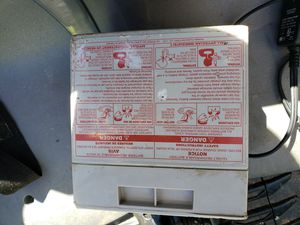 Power wheels battery and car (not working) for Sale in North Bethesda, MD