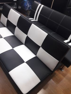 Wonderful New Leather Futon Sofa Bed for Sale in Hemet, CA