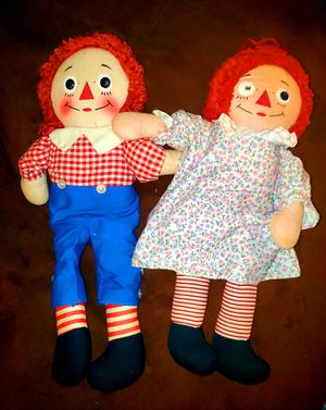 Vintage Original Raggedy Ann & Andy Doll Set for Sale in Woodbridge, VA