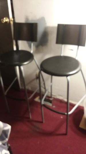 Plastic bar stools for Sale in Waukegan, IL