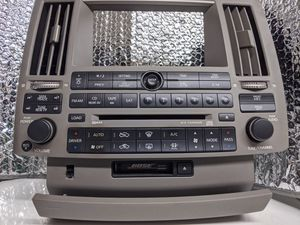 03-05 Infiniti Fx35 Fx45 CD SAT Radio Tape Player Climate Control Panel OEM for Sale in San Diego, CA