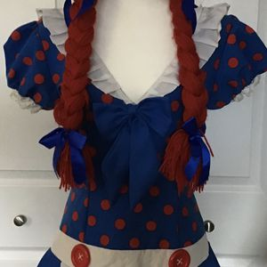 Sexy Raggedy Ann Outfit for Sale in Phoenix, AZ
