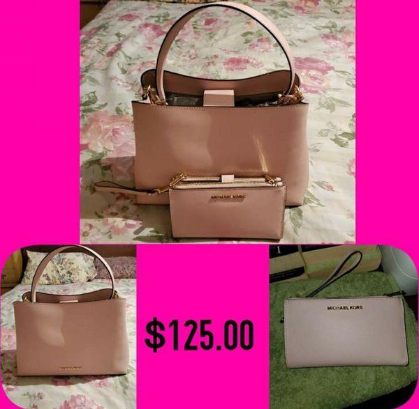 Michael Kors Bag & Wallet Set