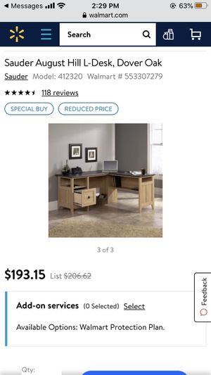 NEW office desk (unboxed) for Sale in Los Angeles, CA