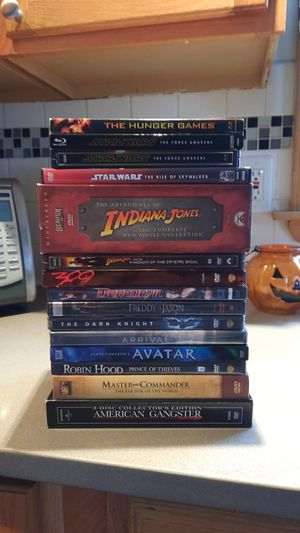 DVD AND BLU-RAY for Sale in Trenton, NJ
