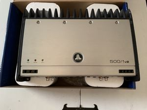 JL Audio 500/1v2 Subwoofer monoblock amplifier for Sale in Dallas, TX
