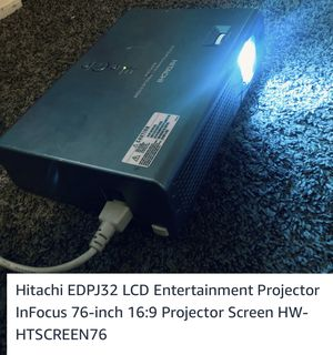 76' Screen Projector for Sale in Tacoma, WA