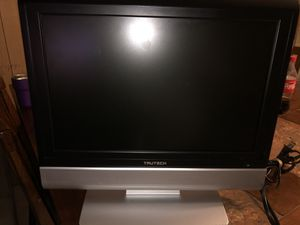 """Trutech 17"""" tv with dvd player no remote for Sale in Alamo, TX"""